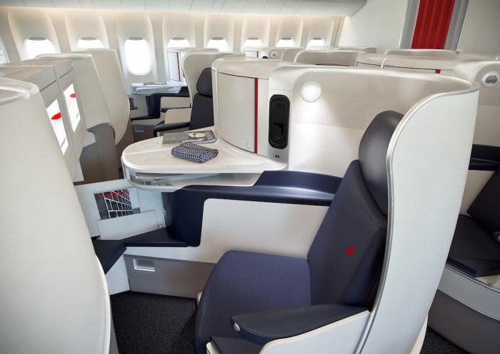 Air France, long-haul travel cabins ,Paris to Havana
