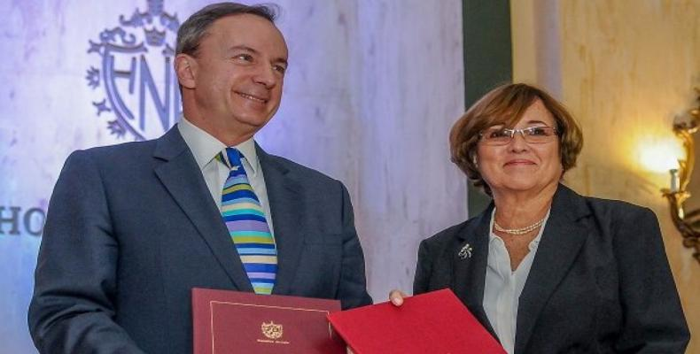 Cuba signs a collaboration agreement with Harvard University