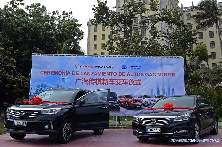 Chinese car maker GAC Motor arrives in Cuban tourism market