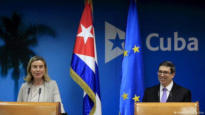 Federica Mogherini pushes EU's key role in Cuban economic opening