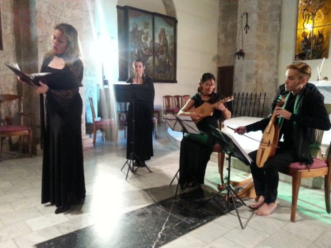 Medieval Music in Cuba with Ensemble Lauda