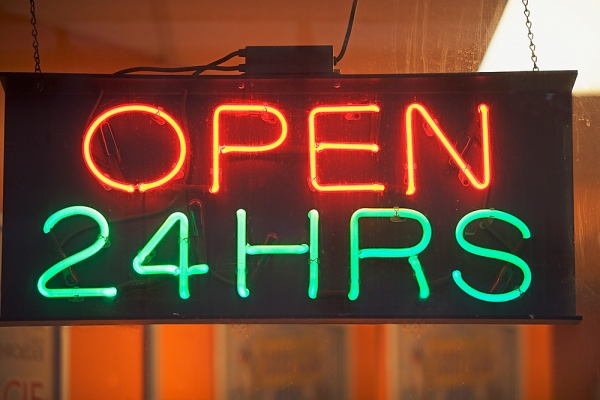 Havana has supermarkets that open 24 hours