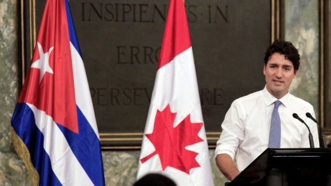 Canada sends home families of diplomats posted in Cuba