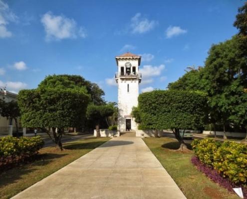 Une des plus belles avenues de Cuba