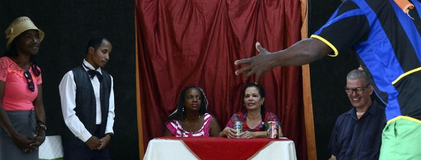Blind Cuban theater group proves disability can not dim talent