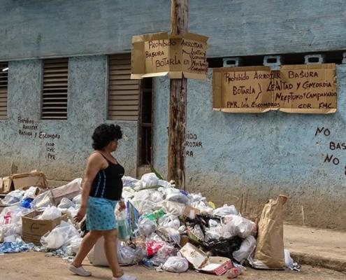 La Habana reduce drásticamente sus camiones de basura