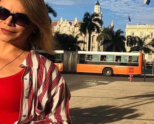 Olga Tañón graba videoclip en La Habana