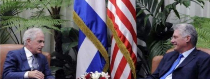 Miguel Diaz-Canel meets U.S. Senator Corker amid tense bilateral relations