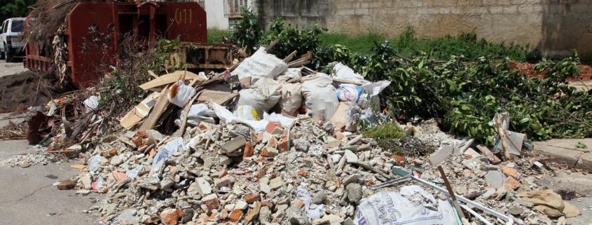 Multas de hasta 3.000 pesos para quienes boten escombros en La Habana