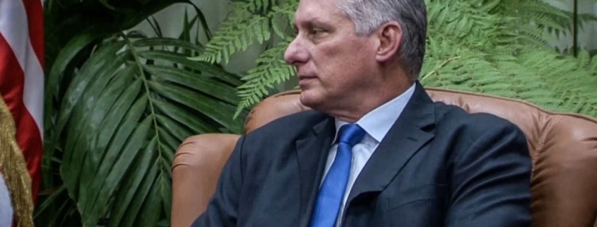 Miguel Díaz-Canel says banking system must play a leading role in Cuban development