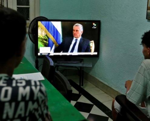 Miguel Díaz-Canel advierte que la relación entre EE.UU. y Cuba está en retroceso