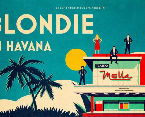 Icónica banda Blondie brindará en La Habana espectacular show