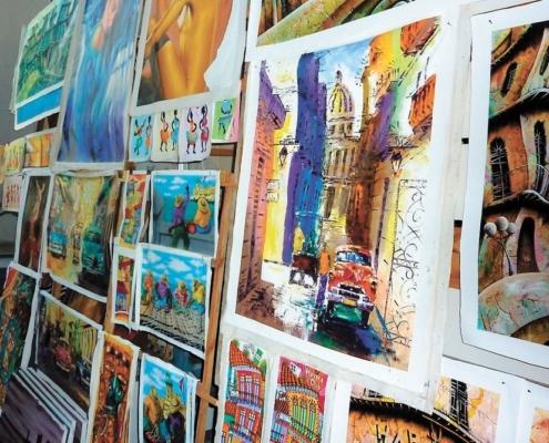 Un salon de l'artisanat permanent en La Havane