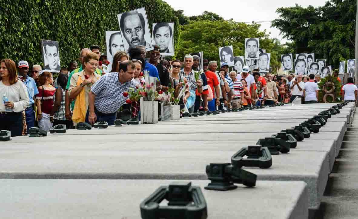 Bombing against Cuban Aircraft in 1976 Remembered in Havana