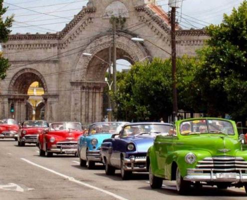 Vehículos clásicos competirán en un rally de regularidad en La Habana