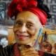 """Entregan en La Habana la """"Orden del Sol Naciente"""" a Omara Portuondo"""