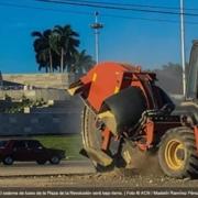 La Plaza de la Revolución, sin cables y con LED por el aniversario de La Habana