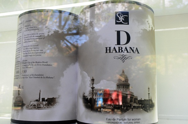 D Havana, a new perfume for the capital of Cuba in its 500 years