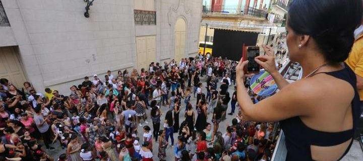 Flamenco flashmob makes its presence known in Havana