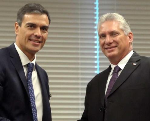 España normalizar relaciones con Cuba