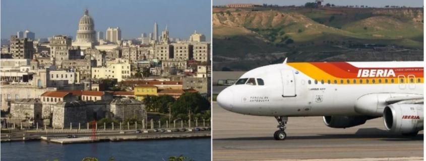 Vuelo Iberia Habana-Madrid mañana, última oportunidad de turistas españoles