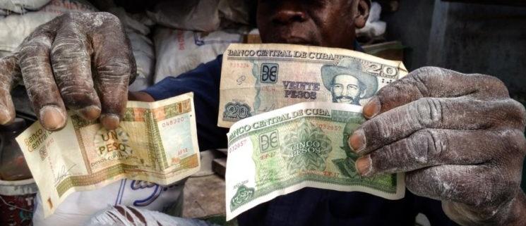 doble moneda en Cuba