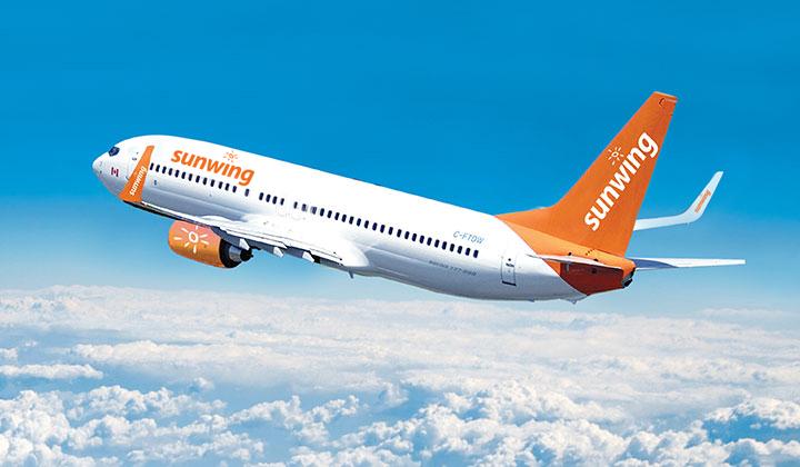 Sunwing Airlines anuncia su regreso a Cuba