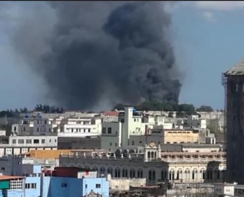 incendio en San Carlos de la Cabaña