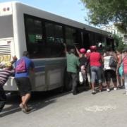 transporte público en La Habana