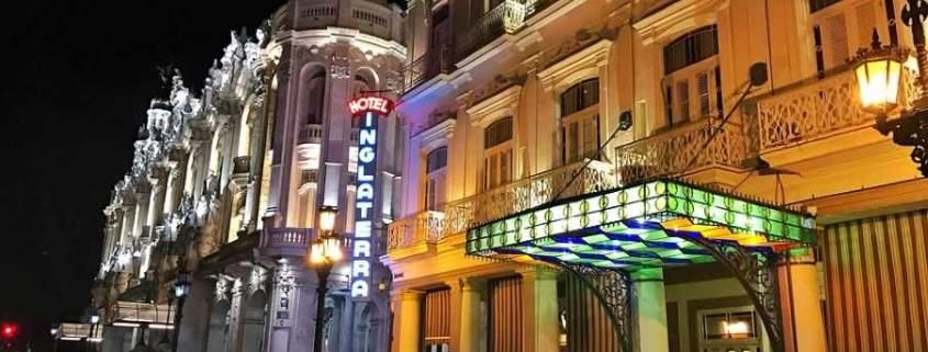 L'hôtel Inglaterra pour sa terrasse