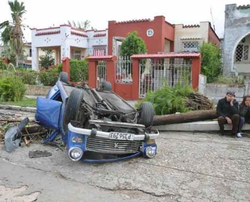 Informan en Italia sobre donaciones a Cuba tras paso de tornado