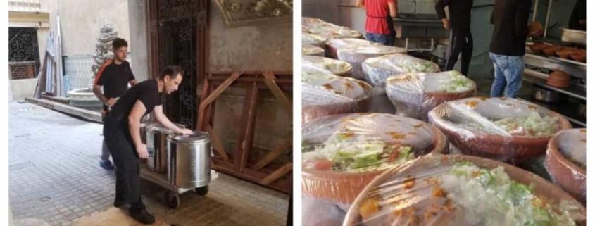 La iniciativa privada en Cuba entrega comida gratuita a aquellos que lo perdieron casi todo