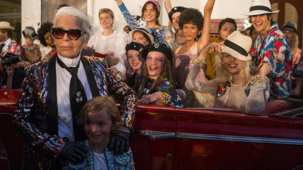 The only Latin city that had a Karl Lagerfeld parade with Chanel