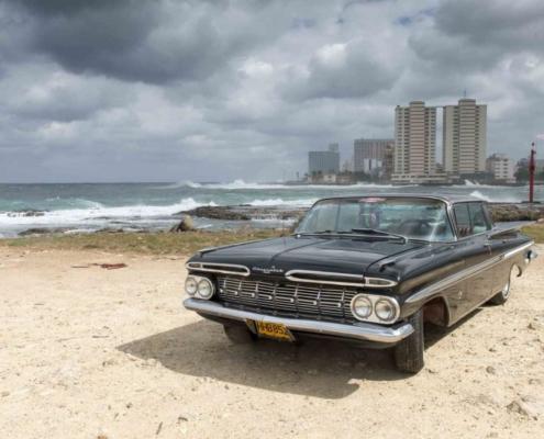 El excapitán de la policía cubana que recorrió toda la isla en busca de un Chevrolet Impala