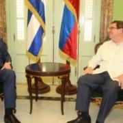 Russian and Cuban diplomats discuss bilateral cooperation in Havana