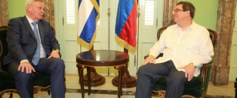 Russian and Cuban diplomats discuss bilateral cooperation in Havana