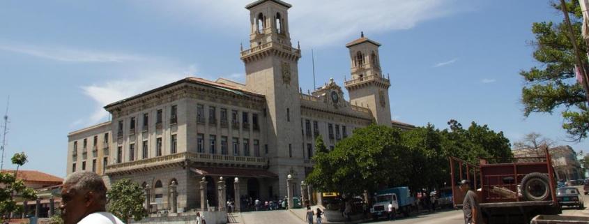 Moderna Estación Central de Ferrocarriles por los 500 de La Habana