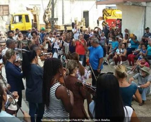 Sinfónica Nacional actúa para los damnificados del tornado en La Habana