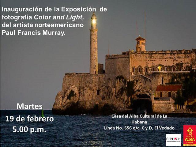 Inaugurarán exposición de Fotografía en la Casa del Alba