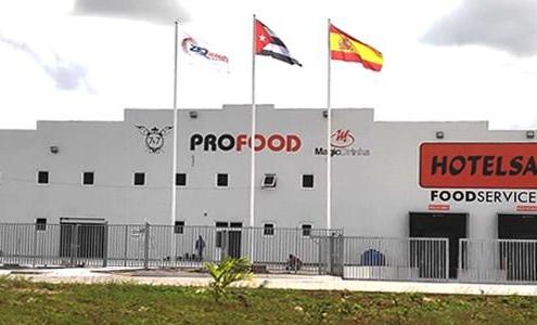 Spanish Profood Company Starts Operations in Cuba
