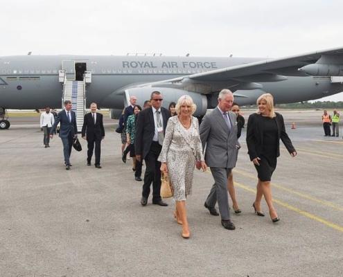 Prince Charles d'Angleterre et son épouse Camilla sont arrivés à Cuba