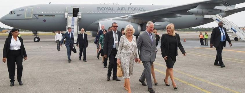 Príncipe Carlos de Inglaterra y su esposa Camila llegaron a Cuba