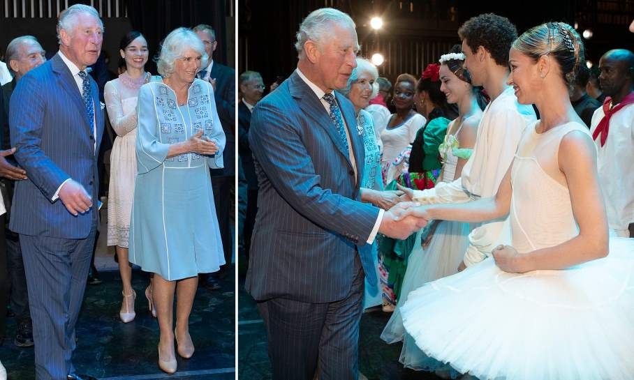 Asisten Sus Altezas Reales a gala artística en el Gran Teatro de La Habana Alicia Alonso