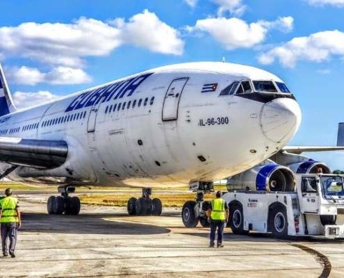 Cubana vuelve a recorrer destino Habana-Buenos Aires