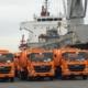 Ya circulan por La Habana los camiones de basura enviados por Japón