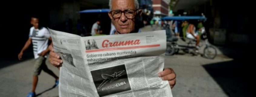 Cuba cuts newspaper size due to paper scarcity as shortages bite