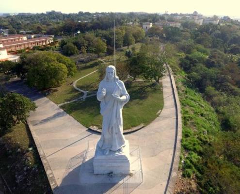 El Cristo de La Habana como nunca lo has visto