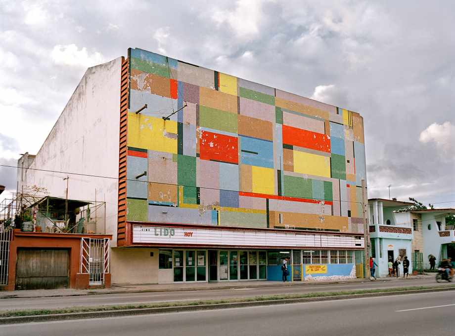Cuba's faded movie theatres – in pictures