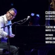 Concierto de Cucurucho Valdés como parte de la 13 Bienal de La Habana
