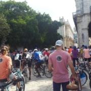 Bicicletas en La Habana por el Medio Ambiente